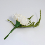 B1303 Corsage: Carnation: Pack of 12 - Choice of Colours